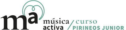 Música Activa Logo Curso Pirineos Junior