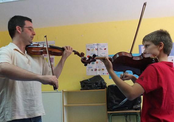 Música Activa cursos de Música - Curso Pirineos Junior