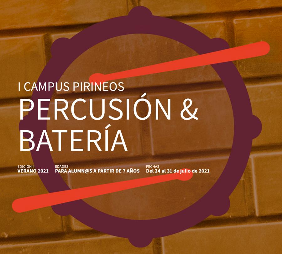 Cursos de Percusión y Batería para niños y jóvenes